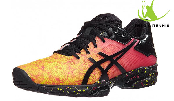 Giay danh tennis nu gia re Asics Gel Solution Speed 3 Summer Solstice