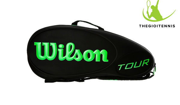 Tui vot tennis Wilson Tour Molded 6 vot - thiet ke the thao noi bat nang dong