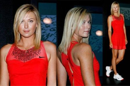 Maria Sharapova Dress US Open 2007