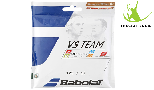 Cước vợt Tennis Babolat VS Team Natural Gut 17 (1.25)