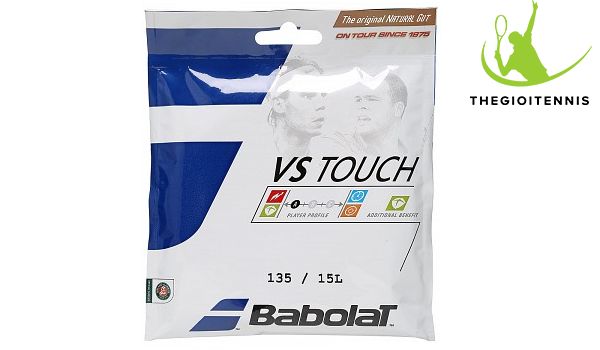 Dây vợt tennis Babolat VS Touch Natural Gut 15L