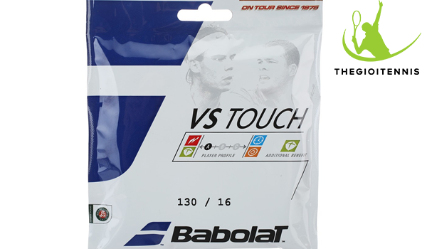 Dây vợt tennis Babolat VS Touch Natural Gut 16