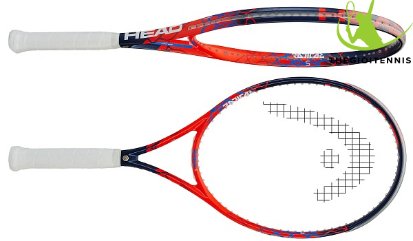 Vot tennis Head Graphene Touch Radical S (HDTRS) - bong xoay va day manh me